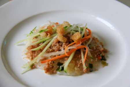 Banh Beo or Steamed Rice Cakes