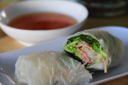 Goi Cuon or Fresh Vietnamese Summer Rolls