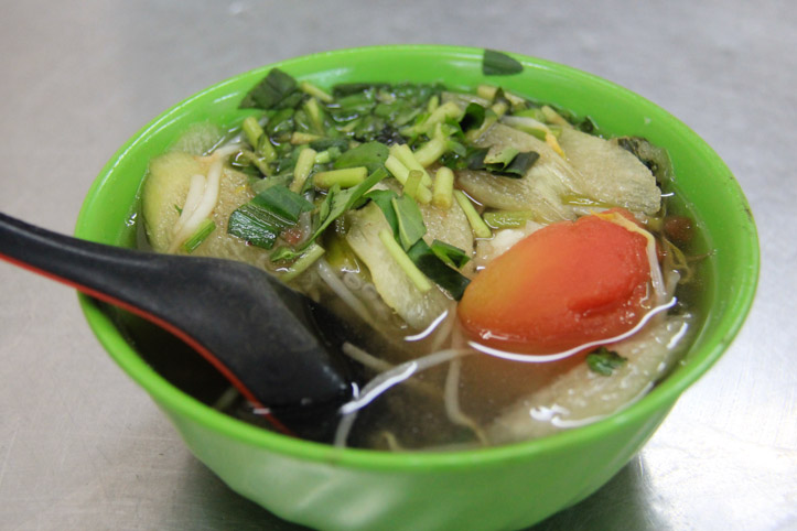 Canh Chua or Tamarind Broth Soup