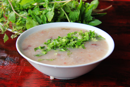 Chao Long or Innards Rice Porridge