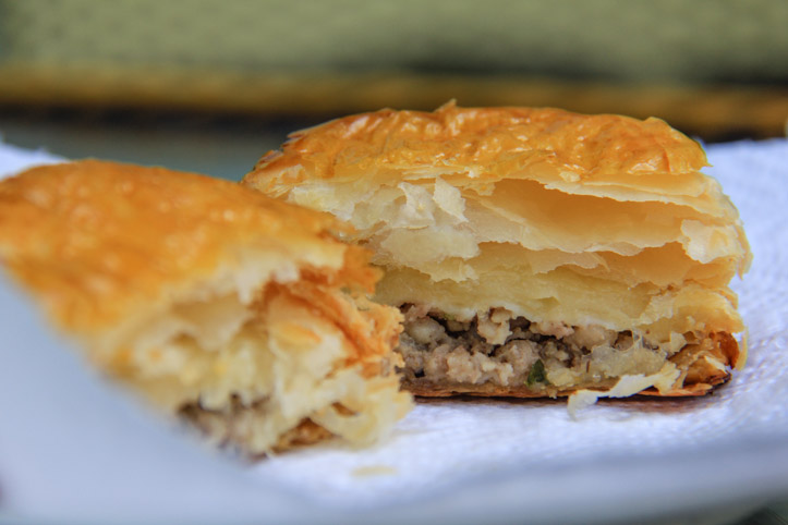 Pate Chaud or Hot Pastry Pie